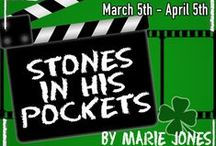"""""""Stones in His Pockets"""" by Marie Jones / We give you shots of the cast, as well as some behind-the-scenes pics of our production of """"Stones in His Pockets,"""" which opens March 5th.  pntheatre.org"""