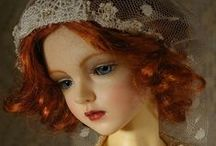 Dolls and toys collection / Beautiful dolls and other cute toys
