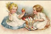 Easter cards / Easter greeting and vintage cards.