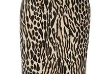Fashion animal print /  Leopard, zebra, reptile, etc... Safari style. Collection of clothes, accessories and subjects of a decor.
