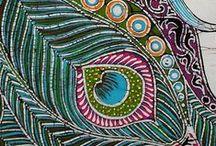 Batik and silk painters