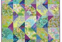 Collage, patchwork, quilts, application...