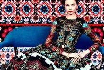 Pattern / a selection of patterned fabrics and inspiration