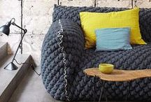 Texture / a selection of textural fabrics and inspiration