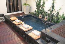 Estanques y piscinas