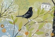 Painters - Lucy Grossmith / Lucy lives in Suffolk (where I lived for a while as a kid) and uses what she sees around her as inspiration for her art and illustrations - many of which are snapped up by major companies and greeting card publishers and she also sells via her very pretty website...