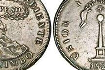 MONEDAS Y BILLETES DE CHILE