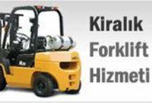 kiralik forklift / Kiralık Forklift Hizmetleri Forklift Kiralam 7 Gün 24 Saat Kesintisiz Hizmet Tel: 0532 715 59 92