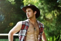 Cowboys - Real Cowboys, Models & Wannabes / A collections of photos of real cowboys, male models in cowboy apparel and those guys that like to dress as cowboys, as well as those guys that love the cool cowboy look. / by Philippe Lafontaine