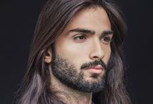 Hot Guys with Longer Hair / A collection of gorgeous men with longer hair, both with and without facial hair (although I prefer them with facial hair). Simply photos of what looks good!!! / by Philippe Lafontaine