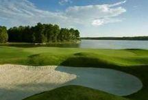 Golfing on Lake Oconee