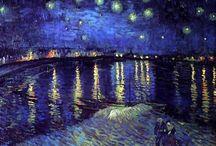Artists - Vincent van Gogh / by Carol London