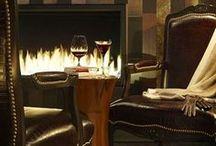 Homes - Exquisite Interiors/Exteriors / Chic, cozy, glam spaces  Interior/Exterior Design Par Excellence / by Carol London