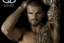 Hot Guys with Tattoos / by Philippe Lafontaine