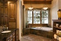 Bathrooms with Class / Beautiful Bathrooms - Lake Oconee  / by Jonathan and Alyce Vining