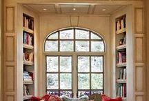 Bookshelves and Library