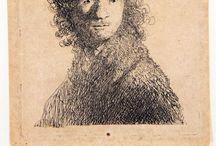 Rembrandt in zwart-wit. Rembrandt in black and white. / 7 maart t/m 22 juni 2014, tentoonstelling van meer dan 100 etsen uit particuliere verzameling.