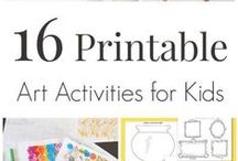 Kids Printables / Kids printables, playdough mats, kids activity sheets and templates