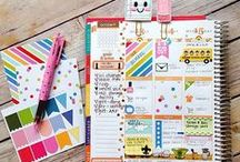 Planner Love / Bullet journals, planners, stationery organisation, filofaxes and planner printables