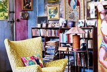 Bohemian interiors and decor