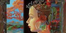 Художник Игорь Тюльпанов / surrealism Igor Tulpanov.  Игорь Тюльпанов– один из тончайших художников нашего времени, классик современного искусства, художник с чутким экзистенциальным нервом.Тюльпанов канонизирует искусство. Художник включает в свои полотна стилистические элементы, заимствованные у Леонардо да Винчи, Иеронима Босха и Яна ван Эйка.