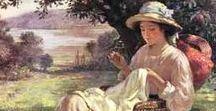 Художник William Kay Blacklock 1872-1922 / British Painter