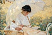 Painting, various artists. / Живопись, разные художники.