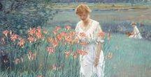 Художник Edward Dufner / Эдвард Дафнер(1872-1957).Американский импрессионист Edward Dufner.