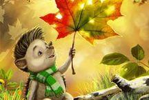 Gifs  Autumn / Гифки  Осень
