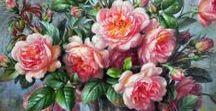 Художник  ALBERT WILLIAMS /  Английский художник Альберт Вильямс  (Albert Williams 1922-2010), без сомнения один из великих художников 20-ого столетия, сумевшего талантливо и роскошно передать уникальность и чарующую красоту каждого отдельного цветка..
