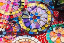 Mosaic ideas, color and pattern