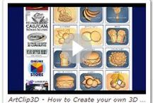 Tutorials / by ArtClip3D, 3D Carving Software