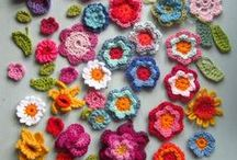 Crochet  Flower patterns / Crochet