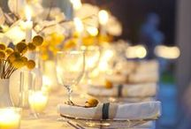 Table settings and decorations