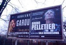 Promocja koncertu w Warszawie