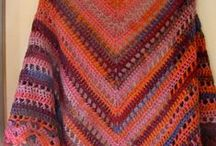 Crochet  Shawls, Ponchos and Scarves
