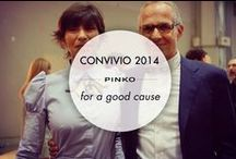Convivio 2014 / Pictures from Convivio event. Pinko embraced the night's fantasy mood to support Anlaids and give a little help for a good cause.