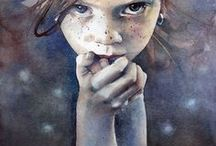 Amazing watercolors / Most wonderful watercolor paintings I've ever seen!