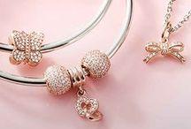 Rose Gold / Beautiful rose gold jewelry.