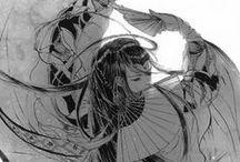 Anime + Manga Art