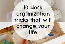 HOW TO get you sh*t together / Organizing your home is a big step to organize your life as well. tutorials, ideas and inspirtaions to organize rooms, room sections etc.