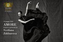 "PINKO and ParmaDanza: the brand supports ""Amore"" at Teatro Regio / PINKO meets the world of ballet: the brand supported Parma Danza Festival and attended the performance featuring the divine ètoile Svetlana Zakharova at Teatro Regio Parma"