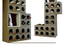 Portabottiglie modulare / Portabottiglie modulare - Wine modular racks