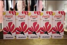 #GlamTaste event: Coca-Cola light meets PINKO unmistakable style! / Are you ready for a new glamorous taste? Last night at via Montenapoleone store, PINKO and Coca-Cola light launched the new Coca-Cola in a sparkling atmosphere of fun and glamour! Watch the gallery!