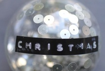 Christmas / my favourite time of year - bring on the glitter and fairy lights and snow and santa!