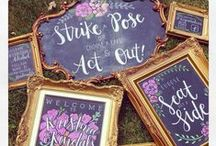 Chalkboards - Vintage Style by SCVR / Vintage Chalkboards in all Sizes, Shapes and Styles!!