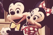 Mickey&Minnie mouse.