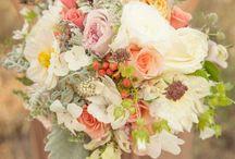 Ramos y adornos florales