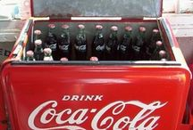 """All Coke Cola / """"Disclaimer"""" These are """"Pins"""" reflecting personal interest. I do not claim copyright or ownership of any content on this board.  I make every effort to give proper credit whenever possible. / by gwynne wilder"""
