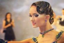 Dancesport / Costume, hair, and makeup inspirations for ballroom dancing